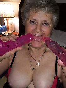 Old slut with hairy pussy