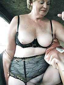Mature prostitute playing herself