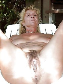 Raunchy older chicks baring it all on picture